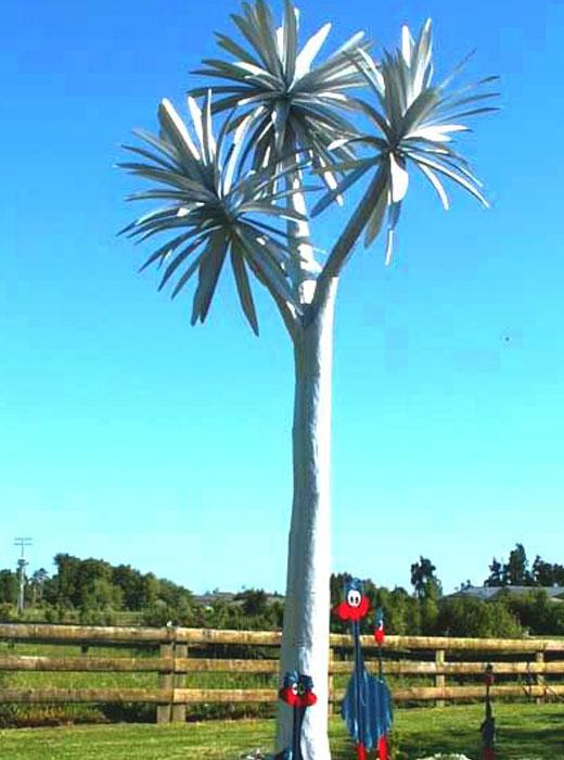 Пальма из профлиста