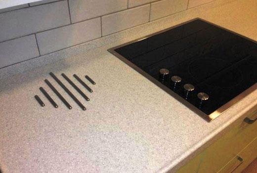 Стальные прутки под горячую посуду