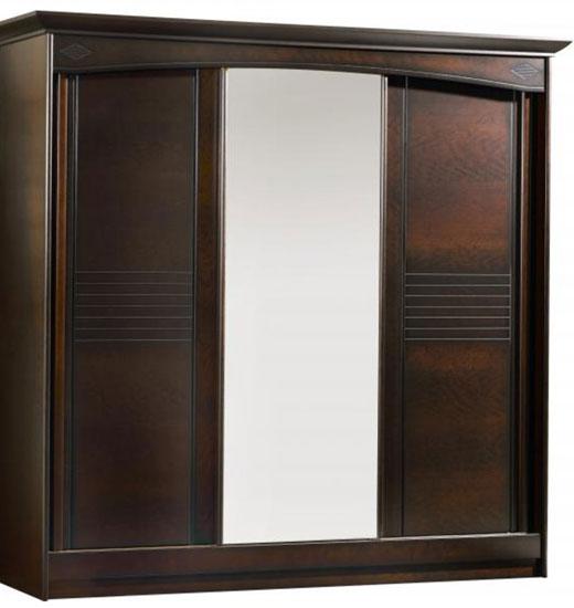 Традиционный вид раздвижного шкафа для классического интерьера или интерьера ретро