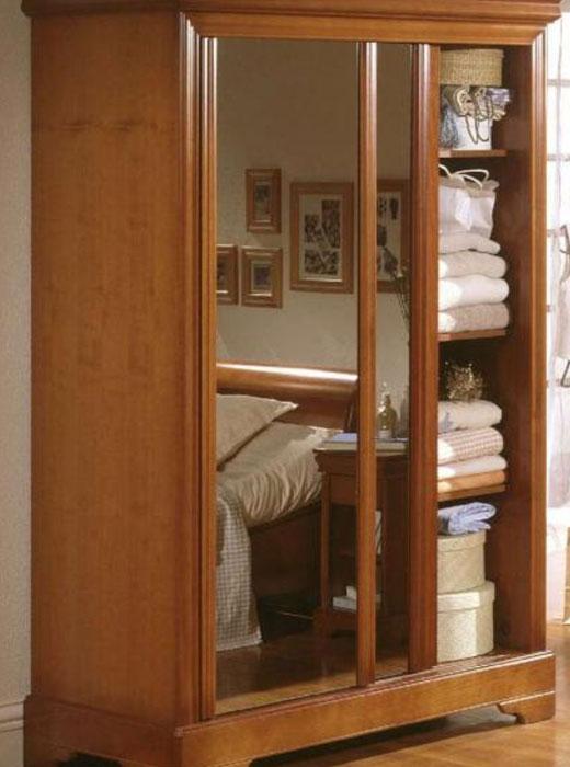 Маленький раздвижной шкаф