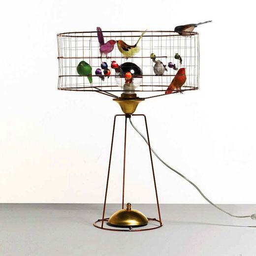светильник с птицами