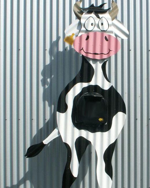 Корова из профнастила