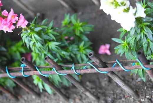 Красивых заборчик для цветника