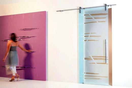 Матовые двери из стекла - любой цвет
