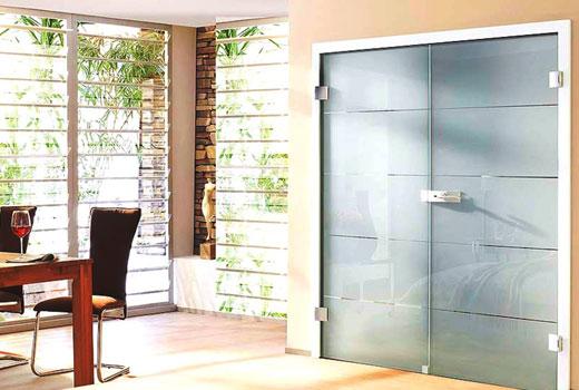 Матовое стекло в дверях