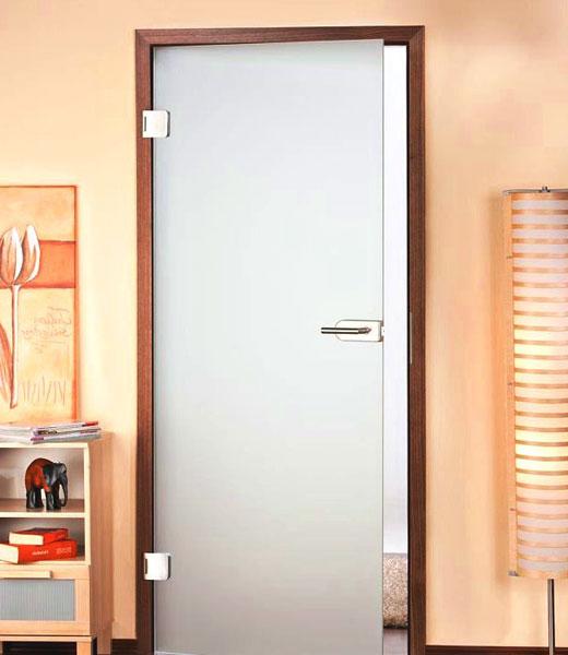 Матовая дверь молочный цвет