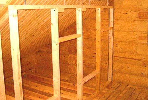 Перегородки в деревянном доме своими руками видео