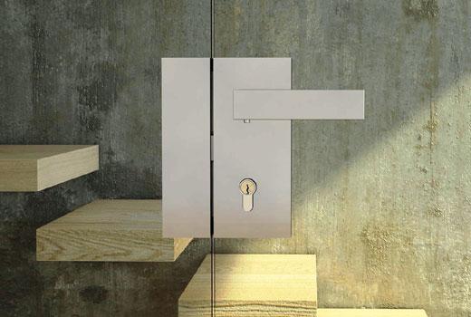 Ручка дверная с замком