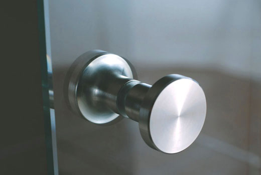 Ручка для стеклянной створки двери