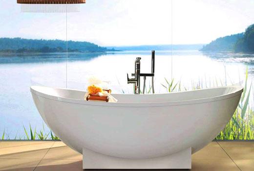 Комфортная ванна из кварила