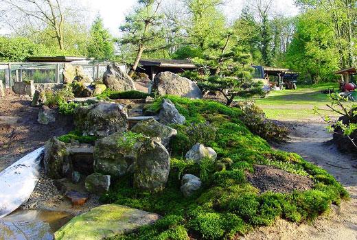 Водопад в японском стиле