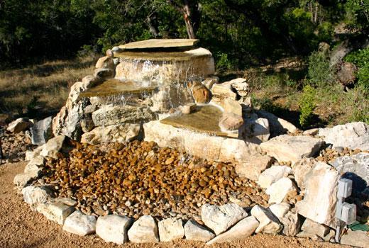 Каменистый водопадик