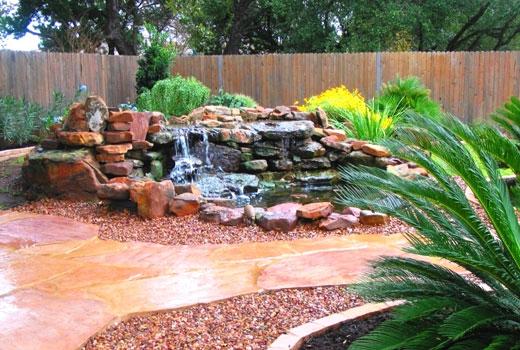 Водопад во дворе