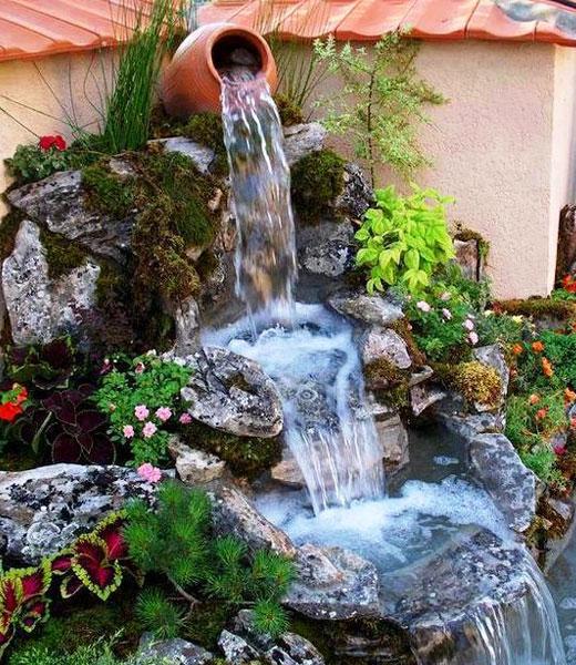 Водопад с кувшином