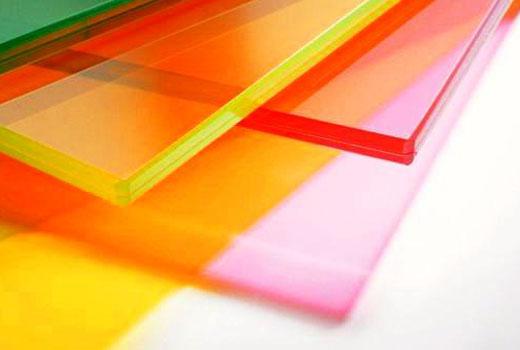 Цветные дверные стекла