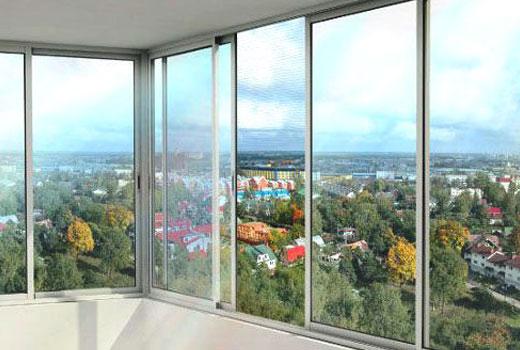 Балконные рамы металлические