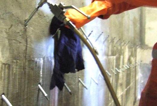 Инъекционная гидроизоляция стены