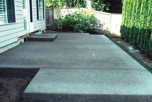 Площадка из бетона