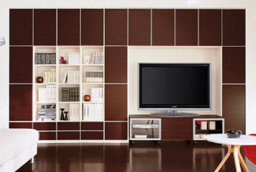 Модельная стенка в гостиную
