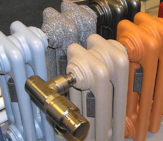Полимерное покрытие трубчатых радиаторов