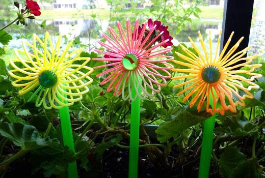 Цветы из проволоки поделки