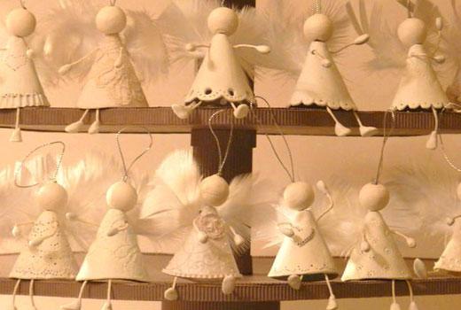 Ангелочки на подставке