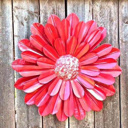 Цветок декор для сада