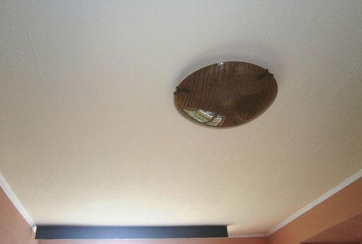 Готовый утепленный потолок