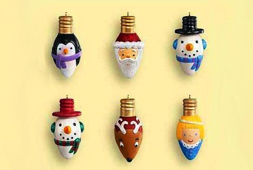 Забавные игрушки новогодние