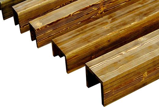 Деревянные потолочные фальш балки