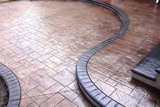 Штампованный бетон