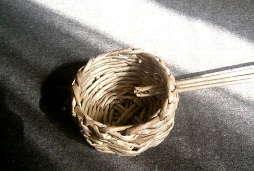 Трубочки для ручки корзинки