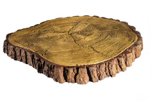 Срез дерева - печатный бетон
