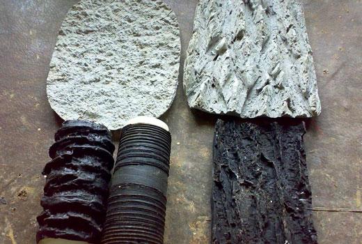 Валики рельефные для печатного бетона