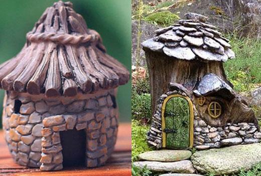 Маленькие домики гномов