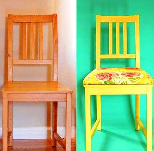 Как сделать мягкое сидение для стула