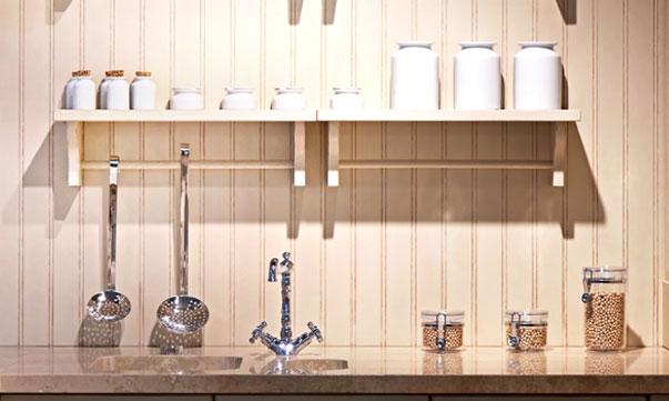Простые стеновые панели для кухни