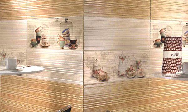 Декоративная плитка для стен кухни