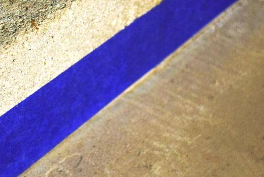 Защитная лента при покраске пола