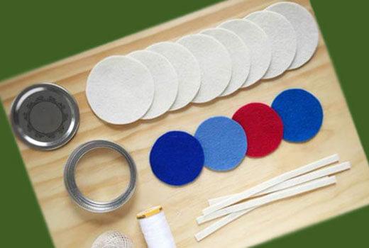 Заготовка фетр для игрушек