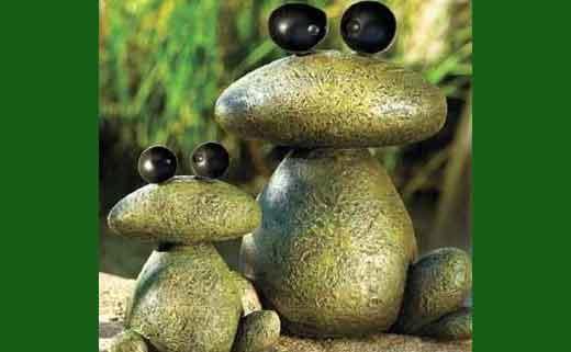 лягушки из камне й