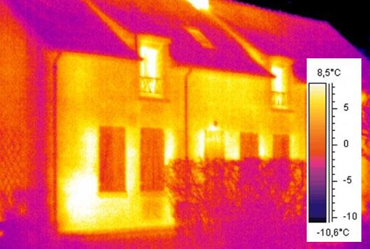 Проверка теплоизоляции дома