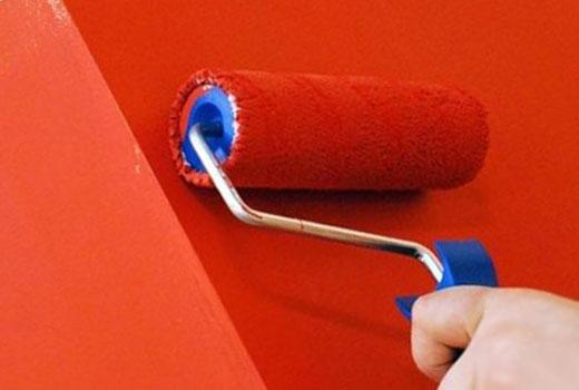 как покрасить гипсокартон