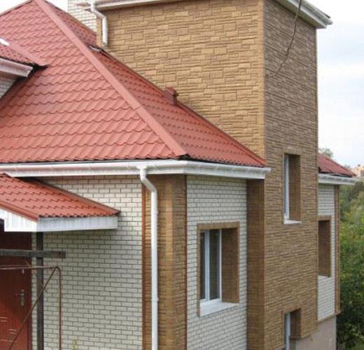 металлосайдинг для фасададов