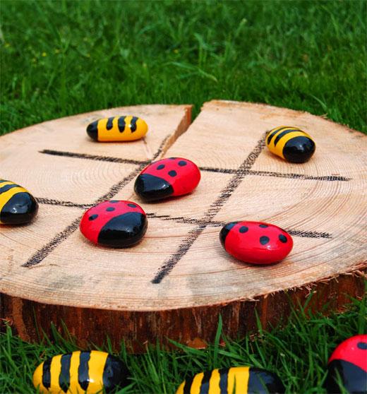 Пчелки в саду игра