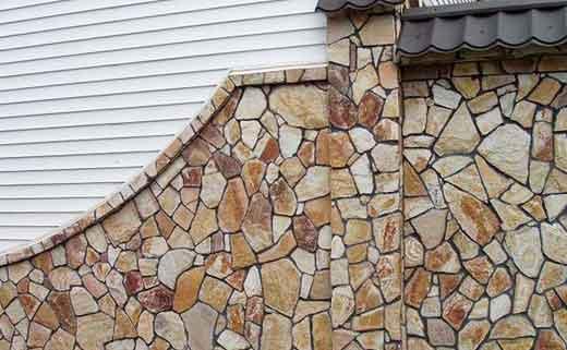 камень фасад укрепление от разрушения