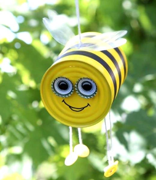 пчелка из банки