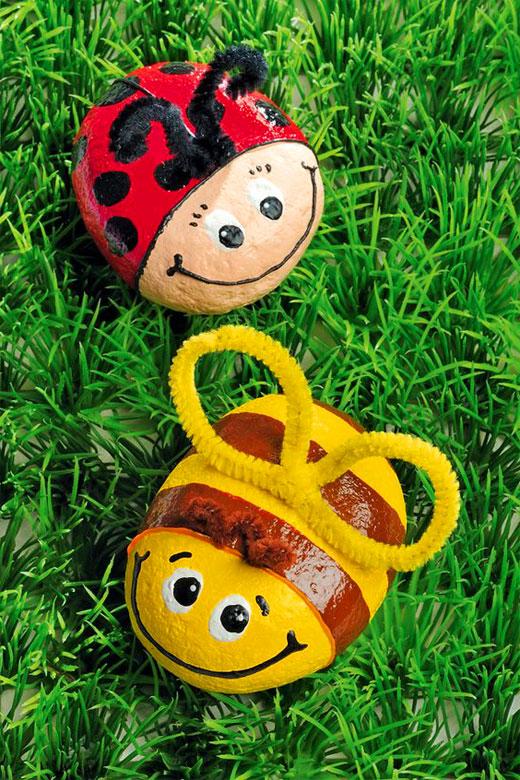 пчелки из камней