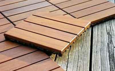 плитка деревянная для веранды