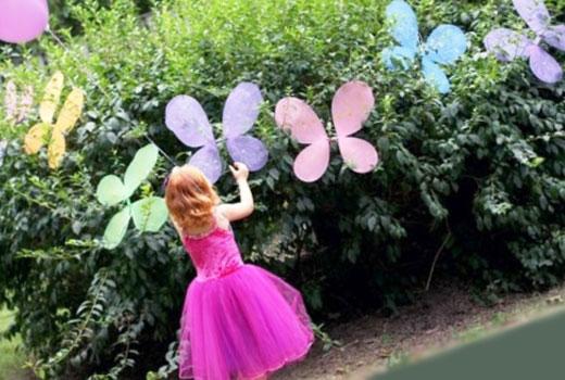 бабочки из сетки